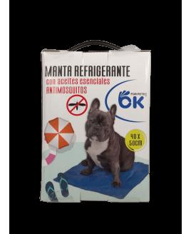 Cama Tapete Refrigerante - Repelentes de Mosquitos 40 x 50 cm
