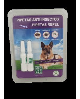 Pipetas repelentes para Cão