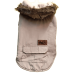 Roupa Animal - Kispo com capuz de pêlo M - Bege