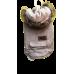 Roupa Animal - Kispo com capuz de pêlo S