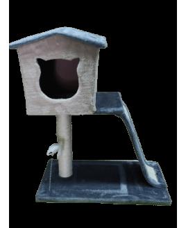 Arranhador Duplo com Casa