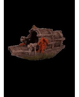 Decoração para Aquário Barquinho