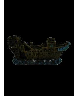 Decoração para Aquário Barco