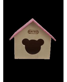 Casa para hamster em madeira