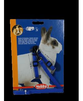 Conjunto Trela + peitoral para roedores