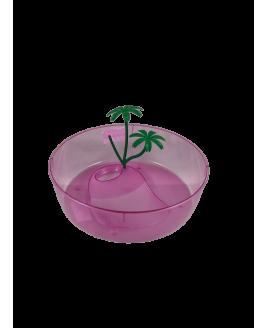 Aquário Tartarugueira pequena em plastico