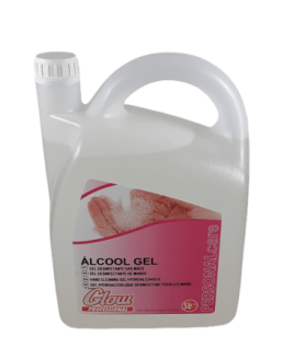 Álcool Gel Glow 5 litros