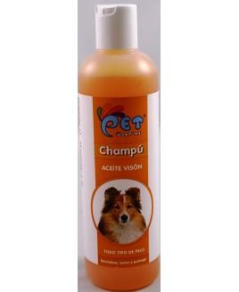 Champô para cão com óleo de visom 300 ml