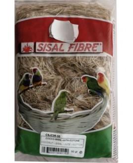 Algodão p/ ninho de Pássaro 500 gr
