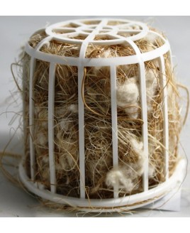 Ninho fibra animais c/ suporte