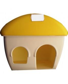Casa hamster plástica